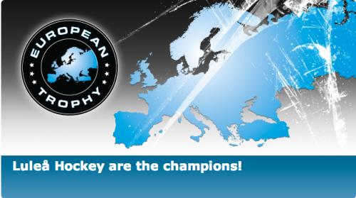 Luleå Hockey are the champions